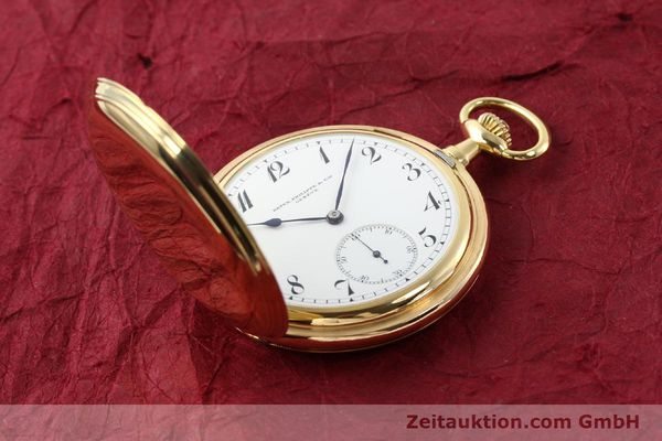 Used luxury watch Patek Philippe Taschenuhr 18 ct gold manual winding  | 140696 17