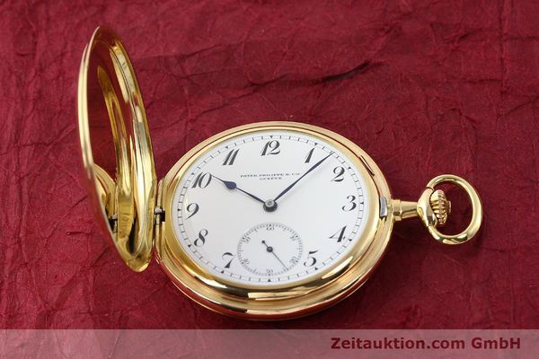 Used luxury watch Patek Philippe Taschenuhr 18 ct gold manual winding  | 140696 18