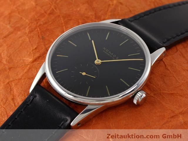 Used luxury watch Nomos Orion steel manual winding Kal. ETA 7001  | 140700 01