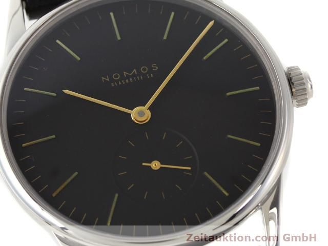 Used luxury watch Nomos Orion steel manual winding Kal. ETA 7001  | 140700 02
