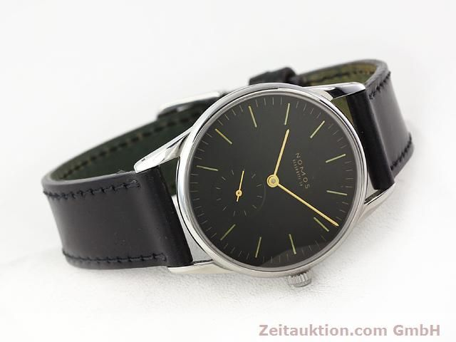 Used luxury watch Nomos Orion steel manual winding Kal. ETA 7001  | 140700 03