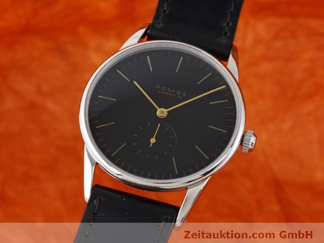 Used luxury watch Nomos Orion steel manual winding Kal. ETA 7001  | 140700 04