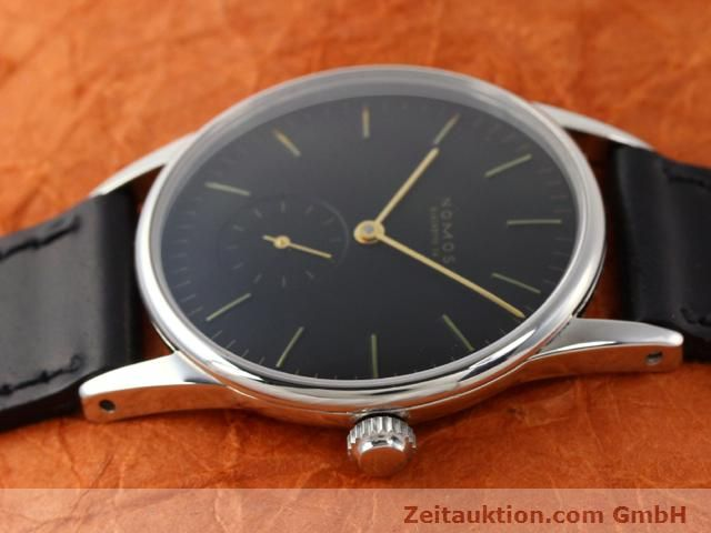 Used luxury watch Nomos Orion steel manual winding Kal. ETA 7001  | 140700 05