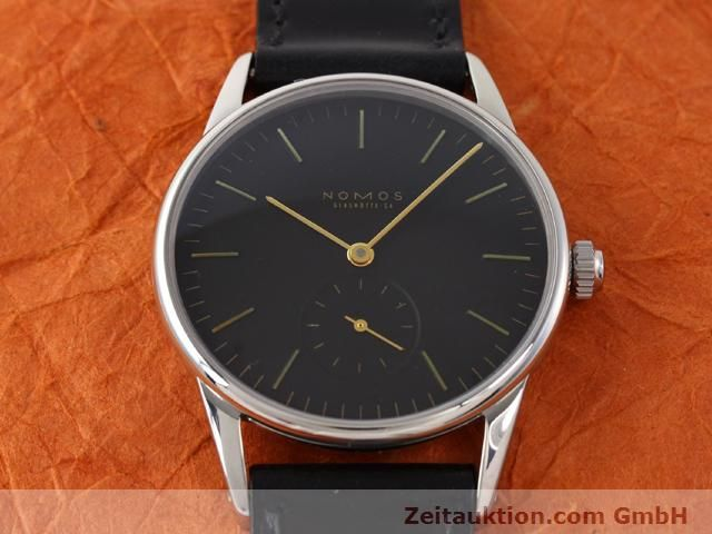 Used luxury watch Nomos Orion steel manual winding Kal. ETA 7001  | 140700 14