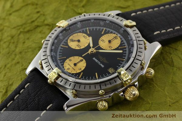 Used luxury watch Breitling Chronomat gilt steel automatic Kal. Valj 7750 Ref. 81950  | 140704 01