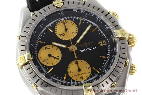 Used luxury watch Breitling Chronomat gilt steel automatic Kal. Valj 7750 Ref. 81950  | 140704 02