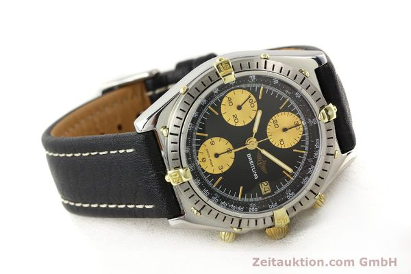 Used luxury watch Breitling Chronomat gilt steel automatic Kal. Valj 7750 Ref. 81950  | 140704 03