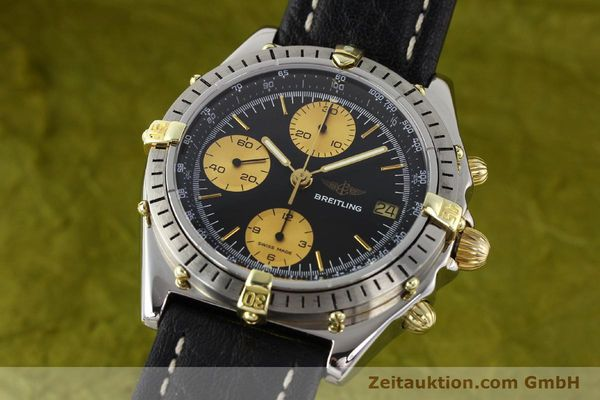 Used luxury watch Breitling Chronomat gilt steel automatic Kal. Valj 7750 Ref. 81950  | 140704 04