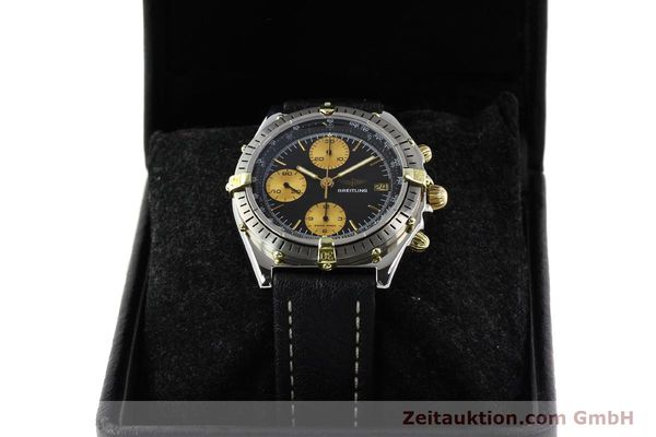 Used luxury watch Breitling Chronomat gilt steel automatic Kal. Valj 7750 Ref. 81950  | 140704 07