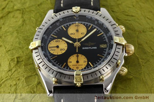 Used luxury watch Breitling Chronomat gilt steel automatic Kal. Valj 7750 Ref. 81950  | 140704 14