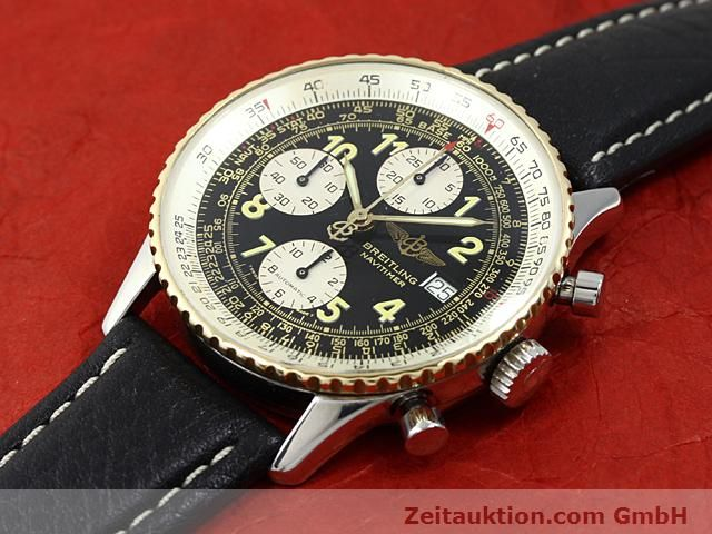Used luxury watch Breitling Navitimer gilt steel automatic  | 140705 01