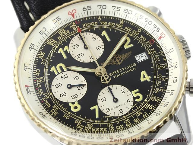 Used luxury watch Breitling Navitimer gilt steel automatic  | 140705 02