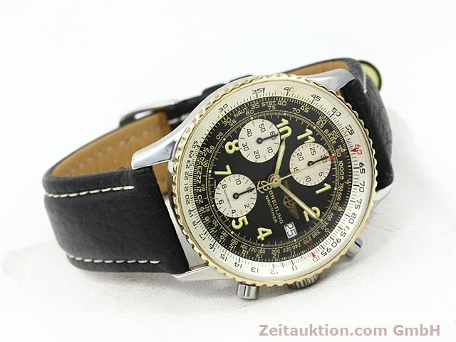 Used luxury watch Breitling Navitimer gilt steel automatic  | 140705 03