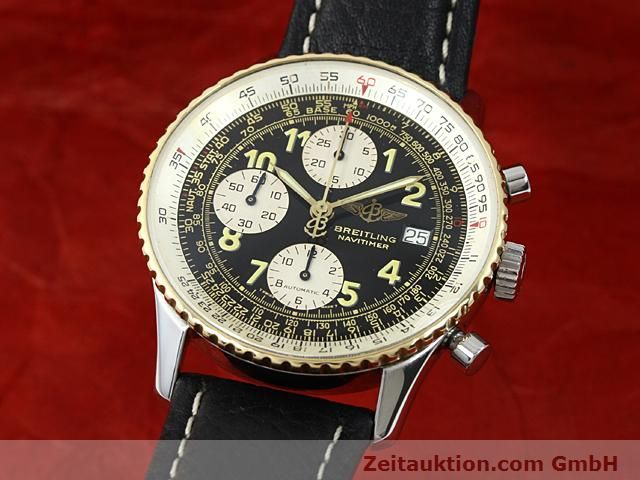 Used luxury watch Breitling Navitimer gilt steel automatic  | 140705 04
