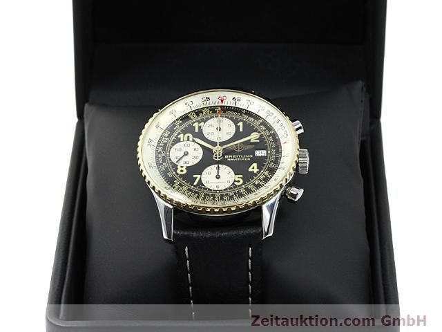 Used luxury watch Breitling Navitimer gilt steel automatic  | 140705 07