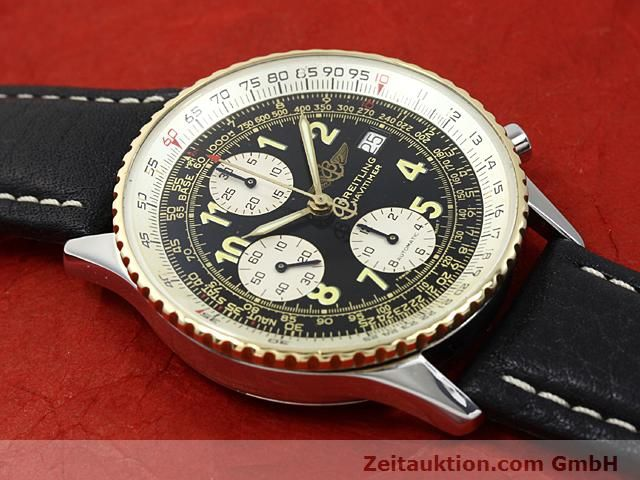 Used luxury watch Breitling Navitimer gilt steel automatic  | 140705 11
