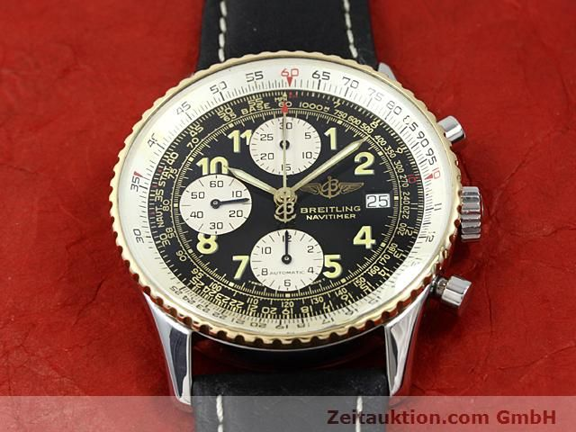Used luxury watch Breitling Navitimer gilt steel automatic  | 140705 12