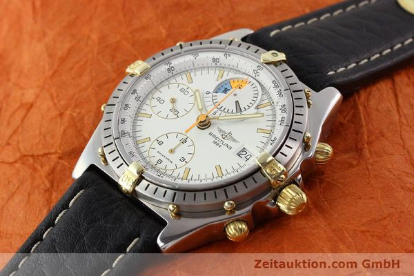 Used luxury watch Breitling Chronomat gilt steel automatic Ref. 81950B13047  | 140707 01