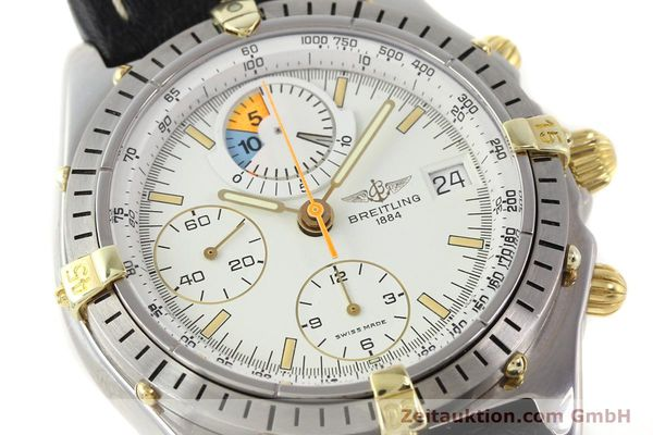 Used luxury watch Breitling Chronomat gilt steel automatic Ref. 81950B13047  | 140707 02