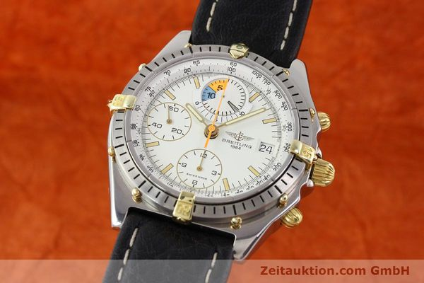 Used luxury watch Breitling Chronomat gilt steel automatic Ref. 81950B13047  | 140707 04