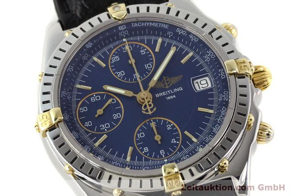 Used luxury watch Breitling Chronomat gilt steel automatic Ref. B130501  | 140708 02