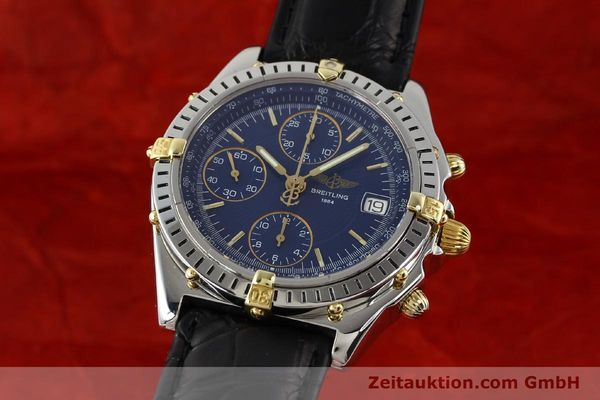 Used luxury watch Breitling Chronomat gilt steel automatic Ref. B130501  | 140708 04