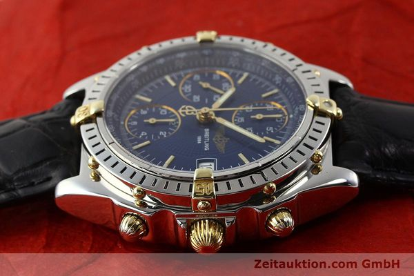Used luxury watch Breitling Chronomat gilt steel automatic Ref. B130501  | 140708 05