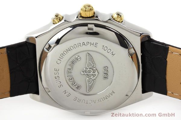 Used luxury watch Breitling Chronomat gilt steel automatic Ref. B130501  | 140708 09
