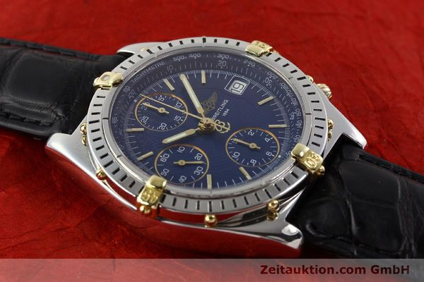 Used luxury watch Breitling Chronomat gilt steel automatic Ref. B130501  | 140708 13