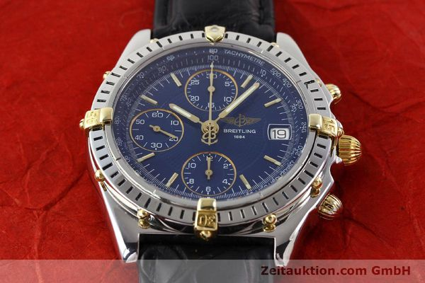 Used luxury watch Breitling Chronomat gilt steel automatic Ref. B130501  | 140708 14