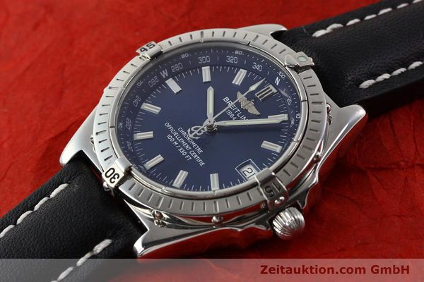 Used luxury watch Breitling Wings steel automatic Ref. A10350  | 140709 01