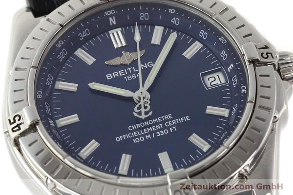 Used luxury watch Breitling Wings steel automatic Ref. A10350  | 140709 02