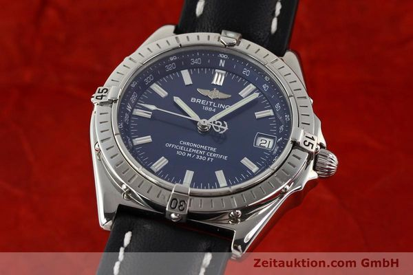 Used luxury watch Breitling Wings steel automatic Ref. A10350  | 140709 04