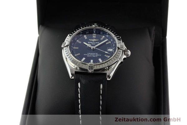 Used luxury watch Breitling Wings steel automatic Ref. A10350  | 140709 07