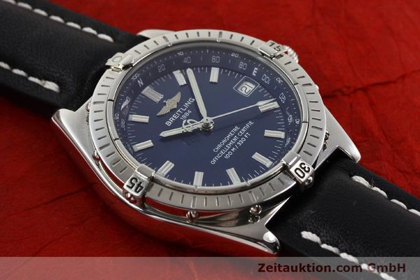 Used luxury watch Breitling Wings steel automatic Ref. A10350  | 140709 14