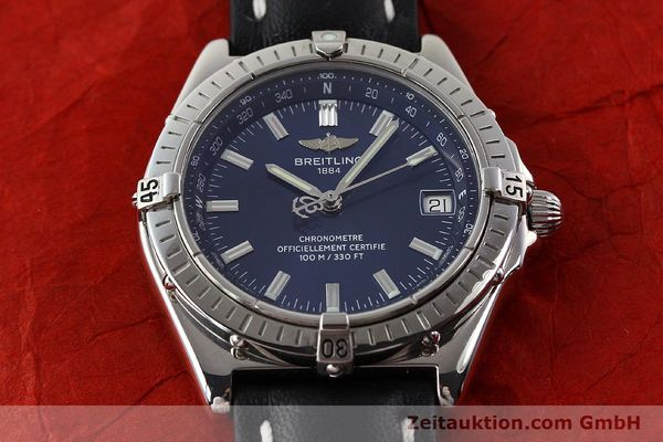 Used luxury watch Breitling Wings steel automatic Ref. A10350  | 140709 15