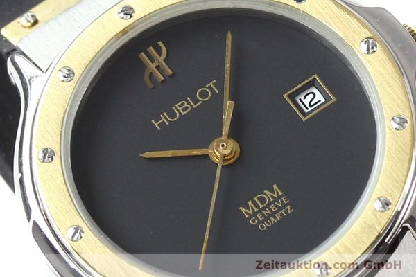 Used luxury watch Hublot MDM gilt steel quartz  | 140710 02