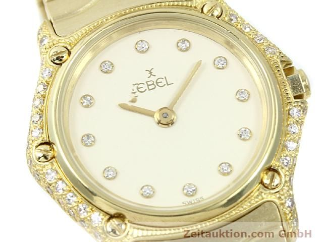 montre de luxe d occasion Ebel Classic Wave or 18 ct quartz Kal. 157 Ref. 866901  | 140711 02