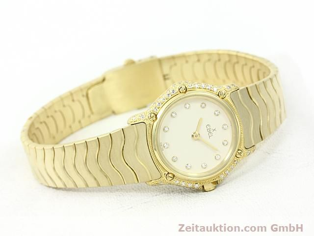 montre de luxe d occasion Ebel Classic Wave or 18 ct quartz Kal. 157 Ref. 866901  | 140711 03