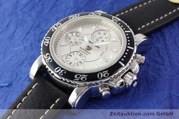 Used luxury watch Montblanc Sport Chronograph steel automatic Ref. 7034  | 140712 01