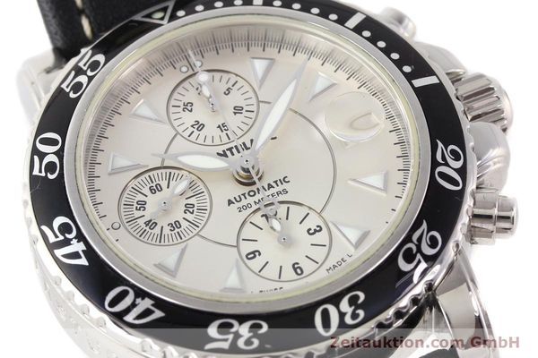 Used luxury watch Montblanc Sport Chronograph steel automatic Ref. 7034  | 140712 02