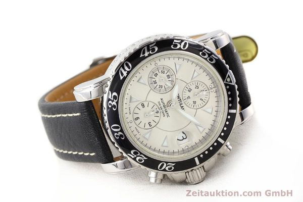 Used luxury watch Montblanc Sport Chronograph steel automatic Ref. 7034  | 140712 03