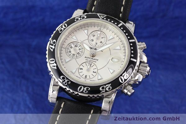 Used luxury watch Montblanc Sport Chronograph steel automatic Ref. 7034  | 140712 04