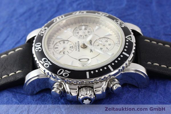 Used luxury watch Montblanc Sport Chronograph steel automatic Ref. 7034  | 140712 05