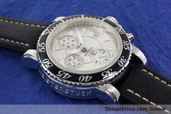 Used luxury watch Montblanc Sport Chronograph steel automatic Ref. 7034  | 140712 14