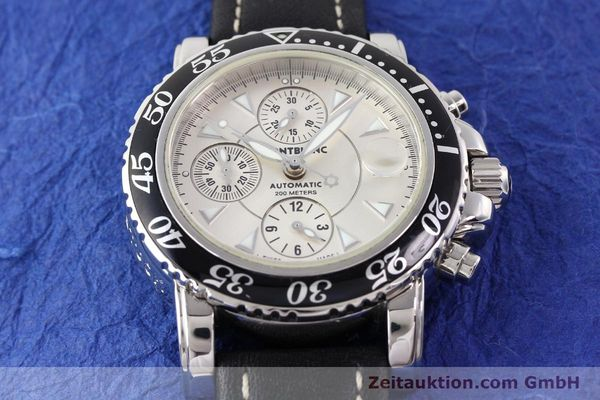 Used luxury watch Montblanc Sport Chronograph steel automatic Ref. 7034  | 140712 15
