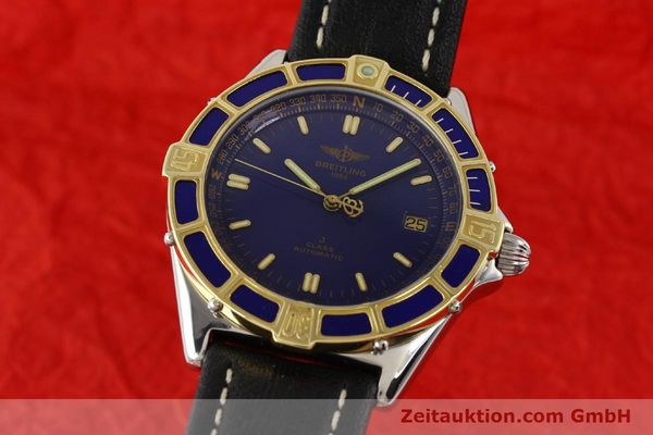 Used luxury watch Breitling J-Class steel / gold automatic Kal. ETA 2892-2 Ref. D10067  | 140713 04