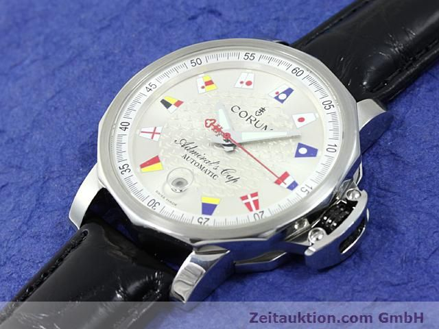 Used luxury watch Corum Admirals Cup steel automatic Kal. ETA 2892A2 Ref. 082.830.20  | 140714 01