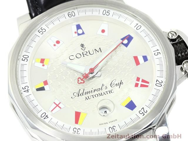 Used luxury watch Corum Admirals Cup steel automatic Kal. ETA 2892A2 Ref. 082.830.20  | 140714 02