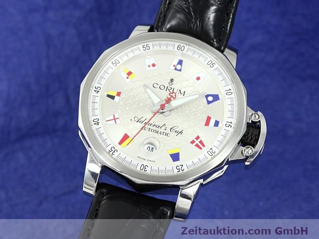 Used luxury watch Corum Admirals Cup steel automatic Kal. ETA 2892A2 Ref. 082.830.20  | 140714 04